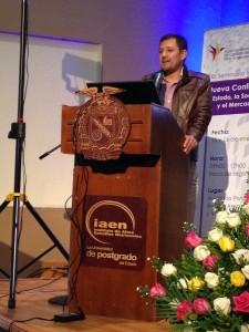 Fabian Vargas Chamorro, representante de Cooperativa El Salinerito.