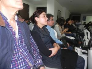 Asistentes a la exposición de Dafermos en INER.