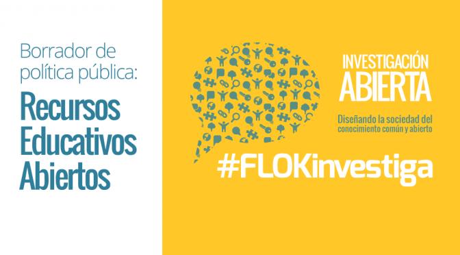#FLOKinvestiga: Recursos educativos abiertos