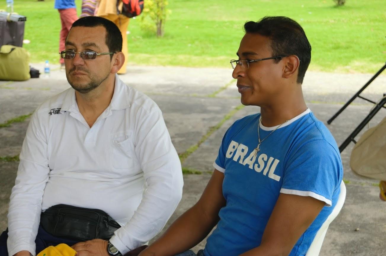 José Ariza (izquierda) y Marlon Sánchez