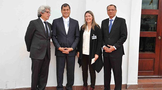 Presidente Correa hace referencia a la cumbre del #BuenConocer