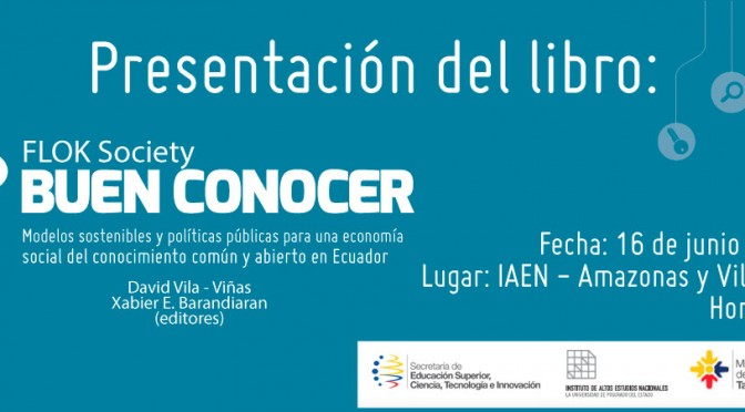 Propuestas para una economía social del conocimiento común y abierto en Ecuador
