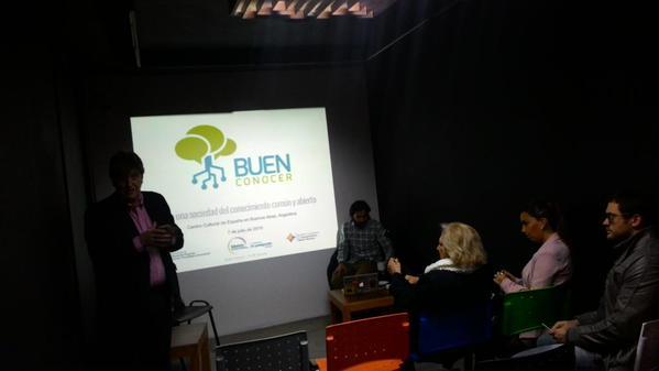 El Buen Conocer se presenta en Argentina